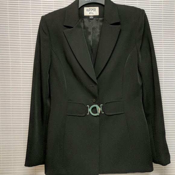 24966021c28 Kasper womens suit jacket excellent condition